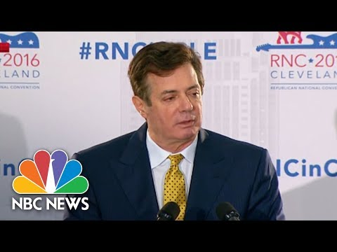 Paul Manafort And Richard Gates Plead Not Guilty To 12 Charges In Federal Court | NBC News