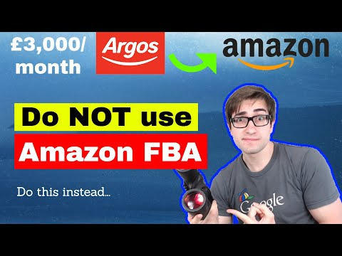 £3,000 A Month Reselling Argos Products On Amazon | NOT Doing FBA | Dropshipping Strategy
