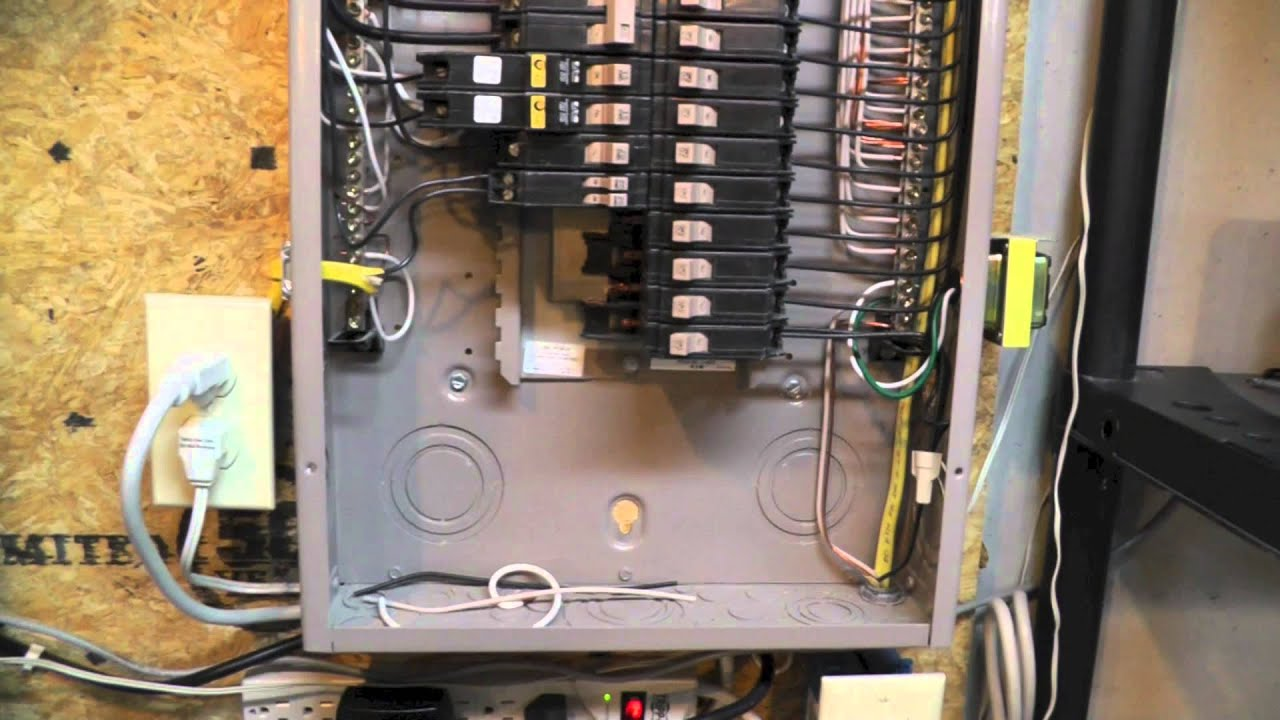 110 Volt Fuse Box Whole House Surge Protection Youtube