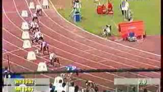 Rome Golden League 2004- Stephan Buckland wins the 200m in 20.20