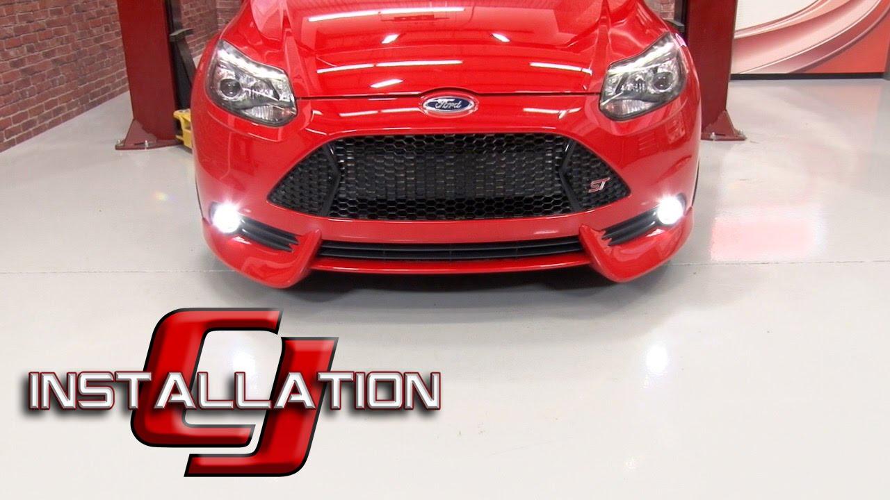Focus St Fiesta St Diode Dynamics Fog Led Luxeon W
