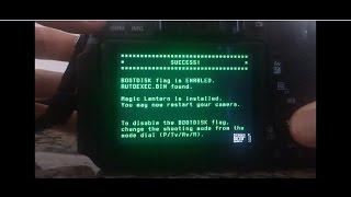 Como instalar e Desinstalar MagicLantern / How to Install MagicLantern (Canon 600D)