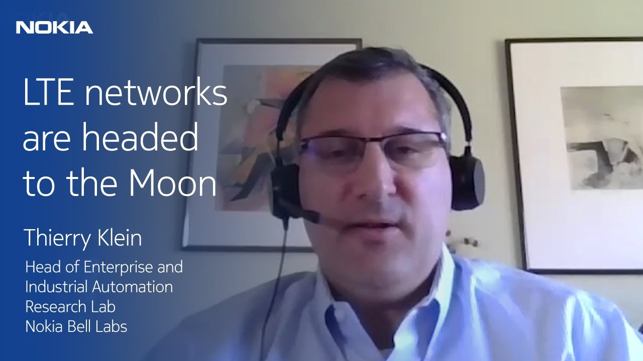 Thierry Klein of Nokia Bell Labs shares what it takes to put LTE on the moon