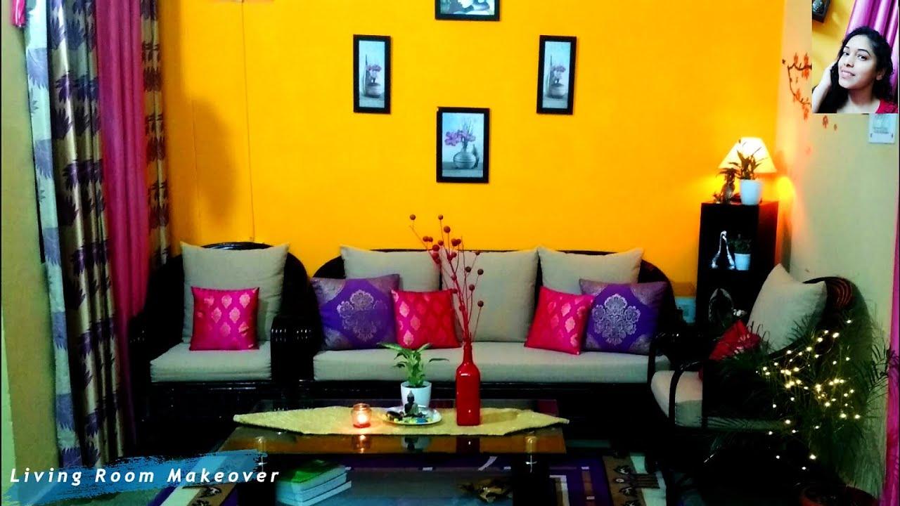 À®¤à®® À®´ Indian Small Budget Living Area Makeover Ideas Tamil Home Decor Diy Living Room À®¹ À®² Youtube