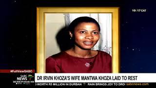 Irvin Khoza's wife Yvonne Mantwa Khoza laid to rest
