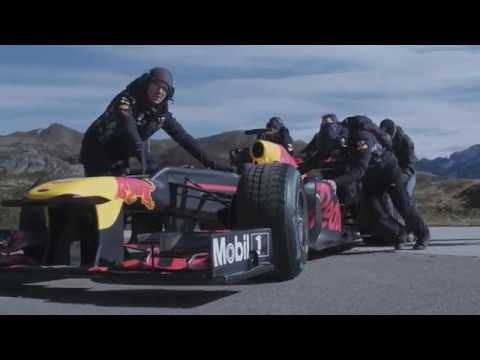 F1 2017 - Buemi and Red Bull demo on the Tremolastrasse (making of)