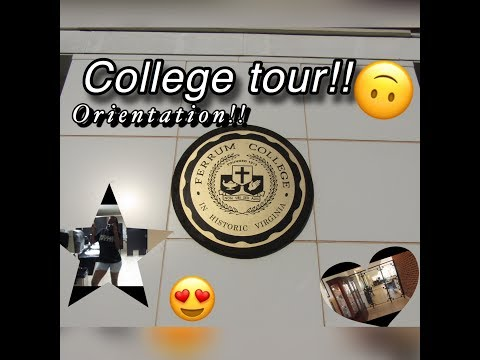 Ferrum College: Orientation