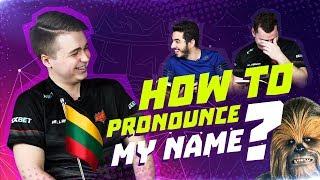Как произносить моё имя? Урок 1 от nukkye. Žygimantas Chmieliauskas