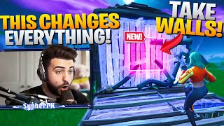 Je peux TAKE WALLS maintenant! (Works on ANY PING) - Fortnite Battle Royale
