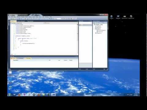 C#.Net Tutorial 1 - Introduction in C# 2010