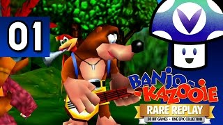[Vinesauce] Vinny - Banjo-Kazooie [Rare Replay] (part 1) + Art!