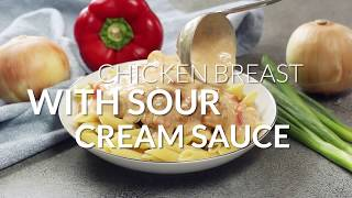 Chicken Breast with Sour Cream Sauce - Bunny's Warm Oven