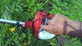Echo Gt.225 weed trimmer line replacement - YouTube