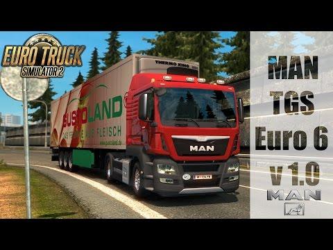 ETS 2 - MAN TGS Euro 6 v 1.0