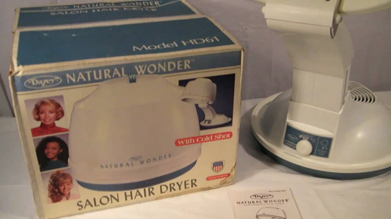 VINTAGE DAZEY NATURAL WONDER HAIR DRYER   YouTube
