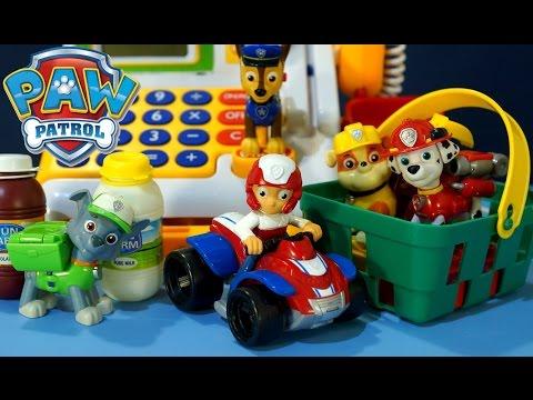 Мультик из игрушек Щенячий Патруль на русском. Детский Супермаркет - Магазин. Видео для малышей