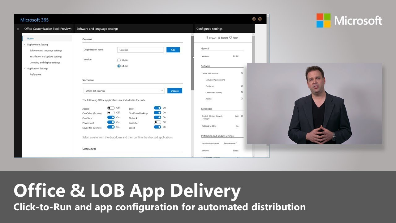 Office and LOB (Line of Business) App Delivery - Step 3 of Desktop  Deployment
