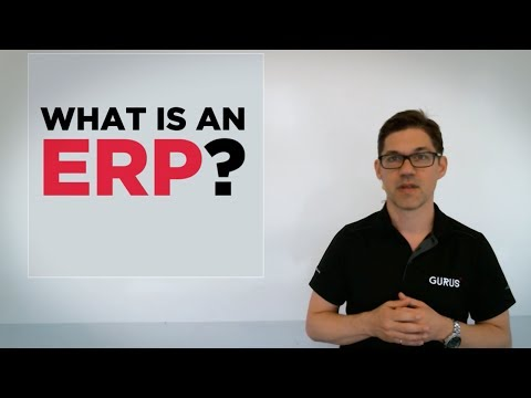 What is an ERP (Enterprise Resource Planning) | Gurus Solutions Whiteboard