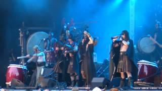 Corvus Corax & Wadokyo - Gjallarhorni (Live at Castlefest 2012)
