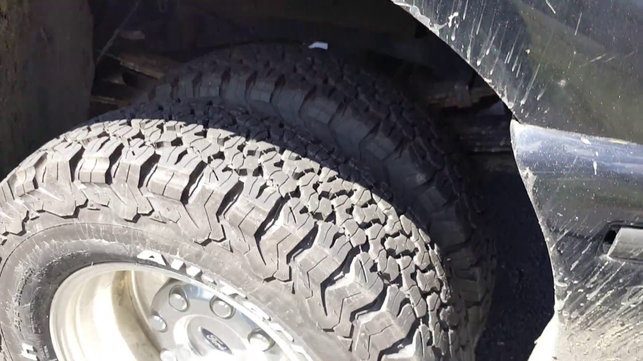 Bf Goodrich Com >> New truck tires! BF Goodrich All Terrain T/A KO2 - YouTube