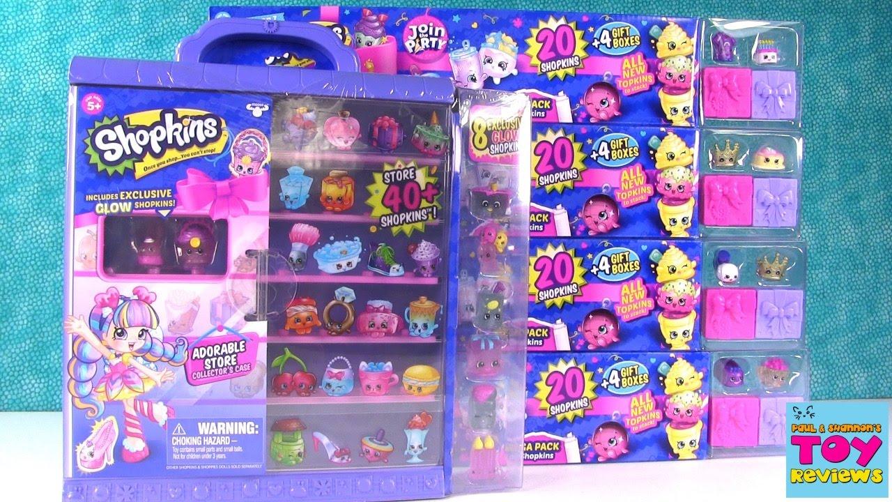 Squishy Mushy Yolo Froyo : Shopkins Season 7 Mega 20 Packs Adorable Store Exclusive Opening PSToyReviews - YouTube