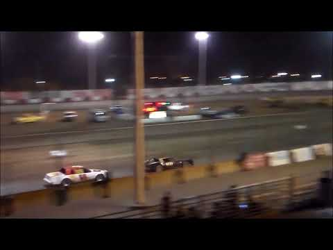 Stock Car Main Event - Tulare Thunderbowl Raceway - 10.7.17