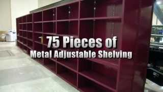 75 Metal Adjustable Shelving Sections On Govliquidation.com