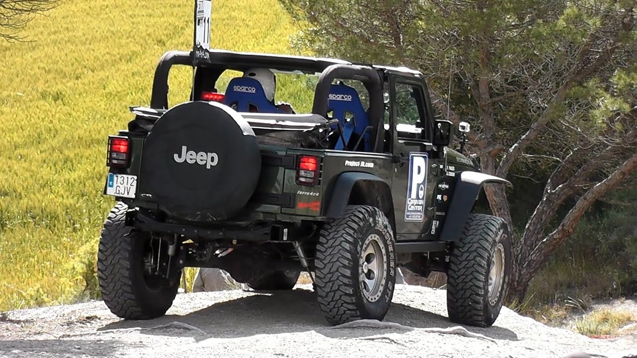 jeep wrangler rubicon off road trial 4x4 youtube. Black Bedroom Furniture Sets. Home Design Ideas