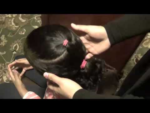 Hairstyles For Long Hair S In Hindi : Quick & easy kids hair styles youtube