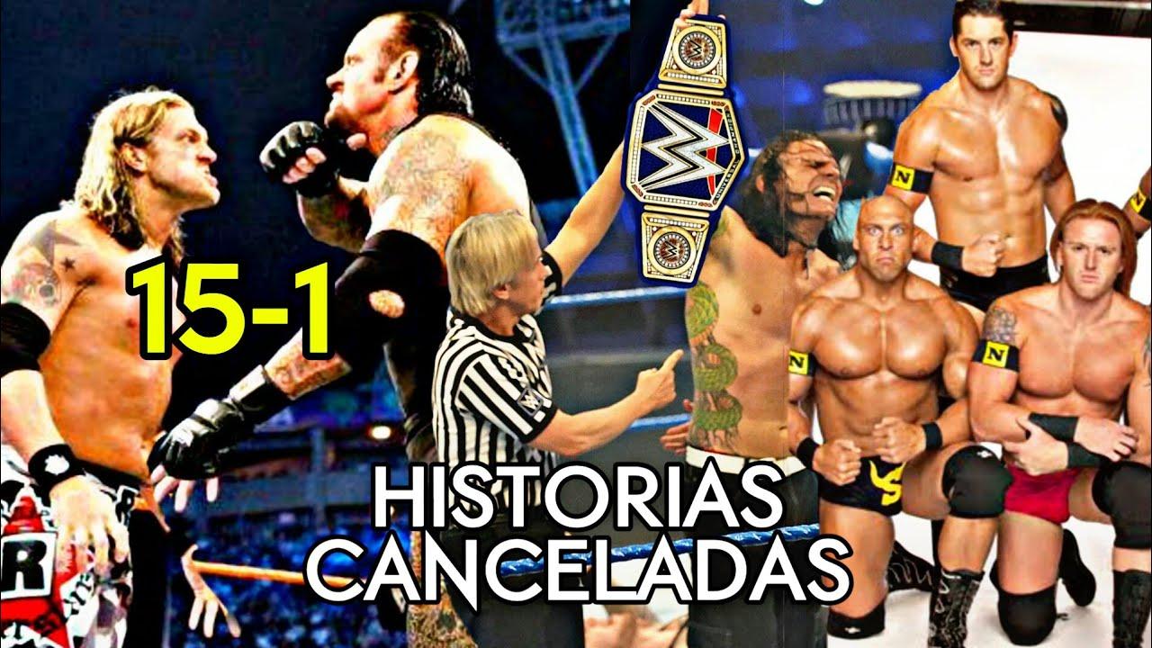 5 INCREIBLES HISTORIAS CANCELADAS POR WWE