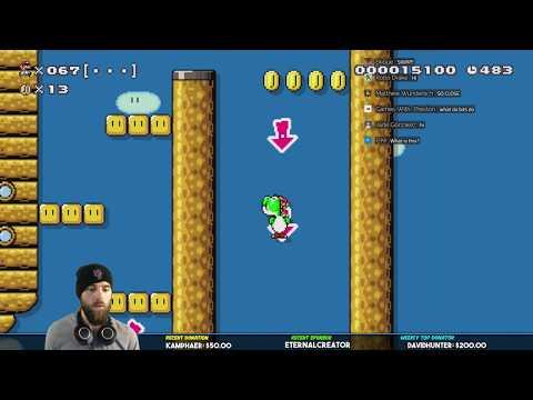 Super Mario Maker // Mario Odyssey Speedruns [200k Party!]