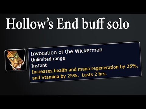 WoW Classic Hollow's End Buff SOLO (Alliance)