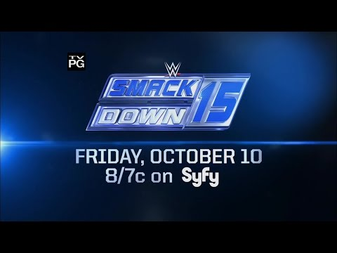 Celebrate the 15th anniversary of SmackDown - Friday, Oct. 10