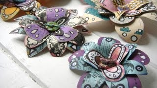 How to Make Recycled Paper Flowers