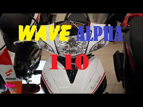 Honda Wave alpha 110 2020 - Tem MONSTER độ chính hãng - Walkaround | Top WaveX
