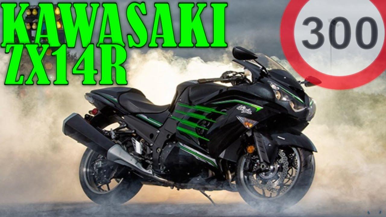 KAWASAKI ZZR1400 ZX14R TOP SPEED 300 km/h - YouTube