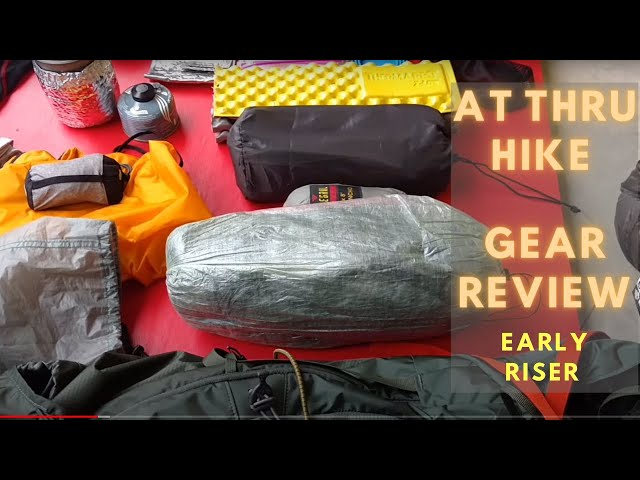2017 Appalachian Trail thru hike: Early Riser 71 Gear Review