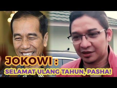 Jokowi: Selamat Ulang Tahun Pasha Ungu