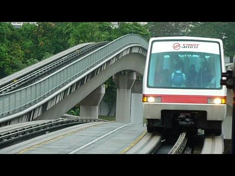 Bukit Panjang LRT Ride from Choa Chu Kang to Bukit Panjang