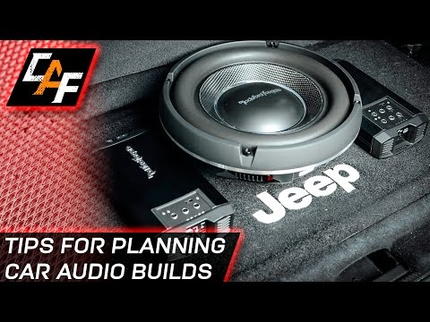 How to START Car Audio Builds BETTER finished project - Subwoofer Amplifier - Jeep Build