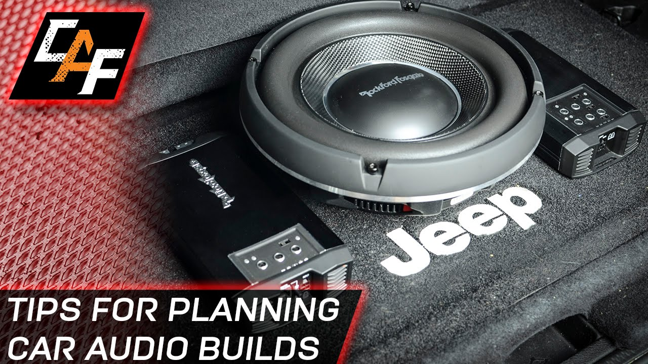 how to build a car subwoofer