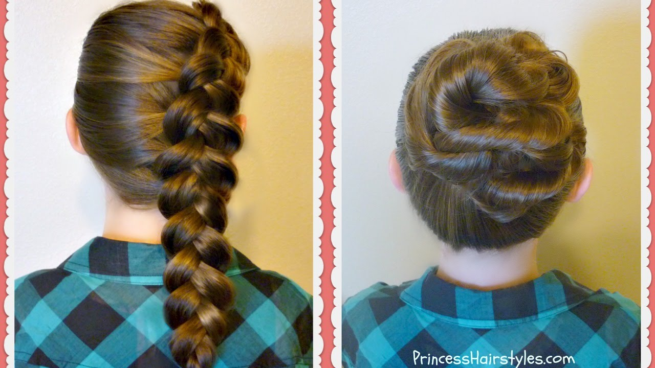 easy braids for school - photo #26