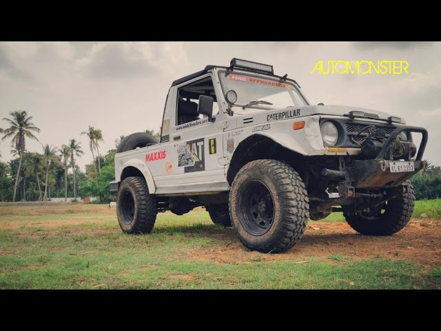 MODIFIED GYPSY - GYPSY KING AWESOME OFF ROAD MODIFICATIONS - REAL AUTO MONSTER