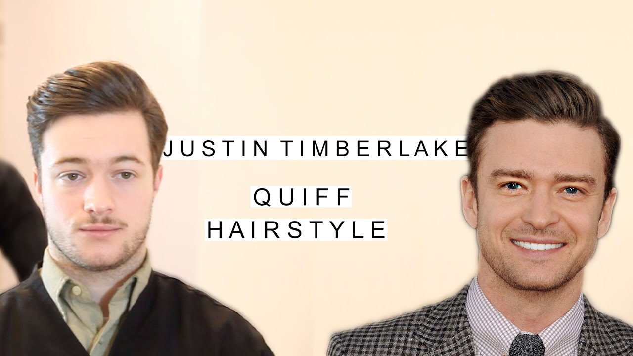 Justin Timberlake Quiff Hairstyle Business Haircut Classic Mens