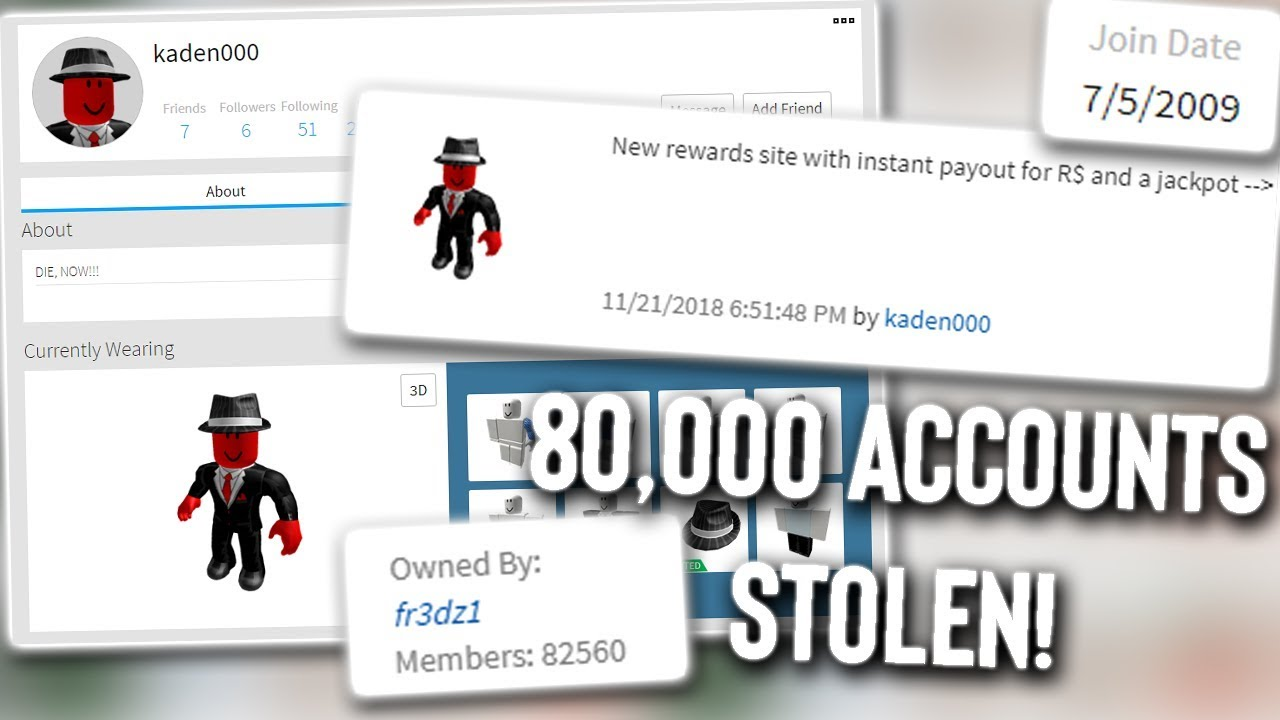 Roblox Old Roblox Account Dump Working June 2018 By Alleged