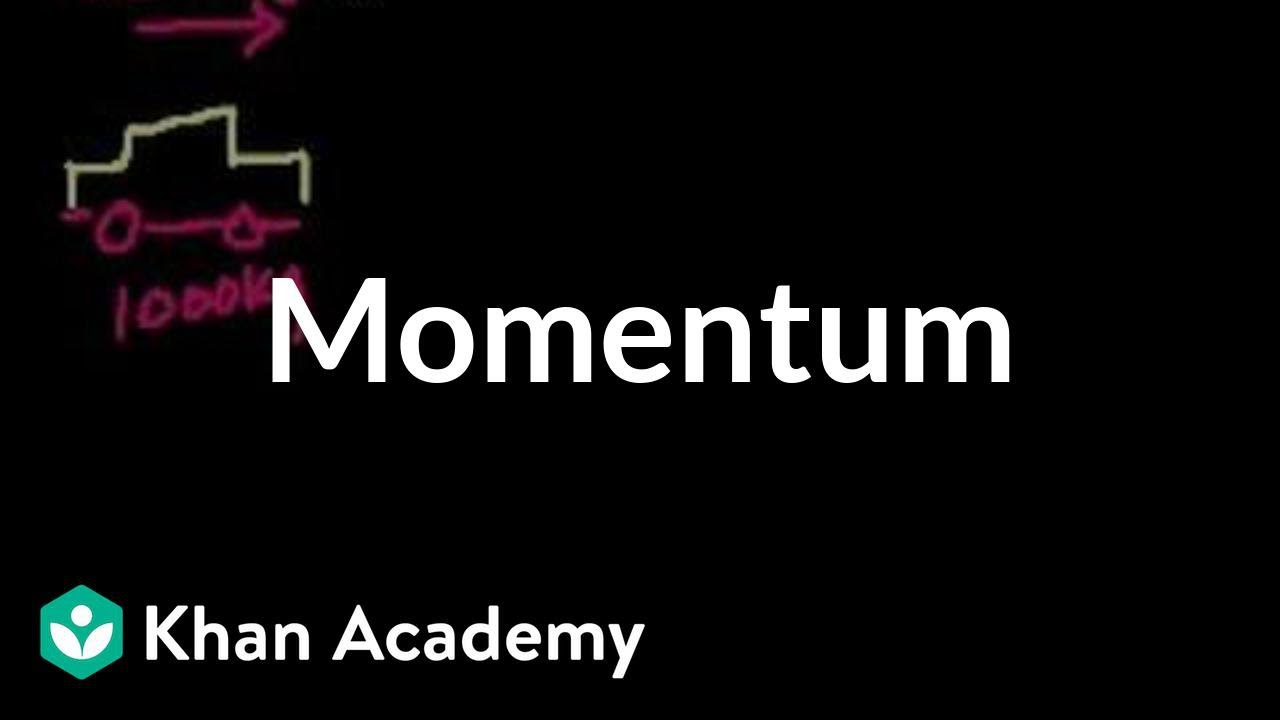 introduction to momentum impacts and linear momentum physics khan academy youtube. Black Bedroom Furniture Sets. Home Design Ideas