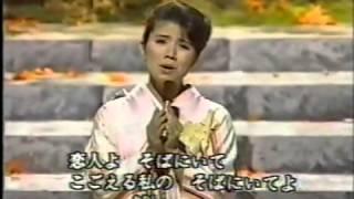 """""""恋人よ""""は、森昌子さんの素直な歌唱が心にしみ、新たな命を吹き込まれ..."""