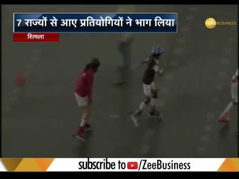 National  open roller skating championship begins in Shimla