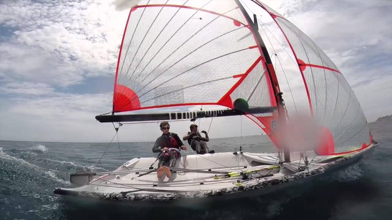 GoPro: 29er sailing (pole view) - YouTube