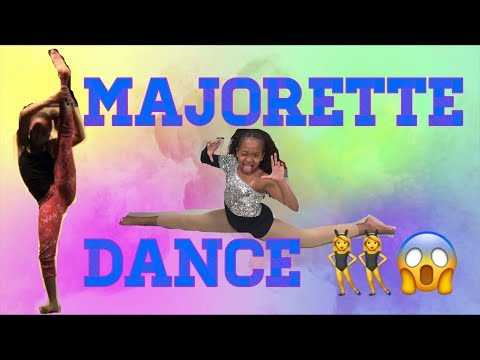 Majorette Dance😱🔥( my own choreography dance)